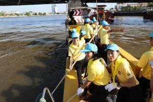การดำเนินการกิจกรรมจิตอาสา เราทำความ ดี ด้วยหัวใจ ของ กองบังคับการตำรวจสันติบาล 1