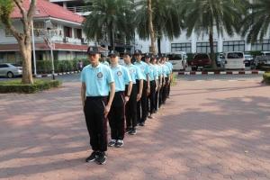การฝึกข้าราชการตำรวจใหม่ในสังกัด บก.อก.บช.ส.
