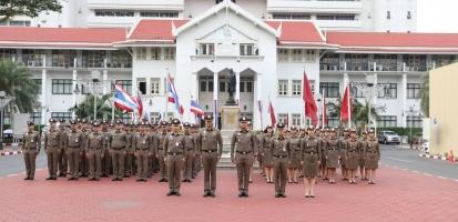 กิจกรรมเคารพธงชาติประจำเดือน ก.พ. 2563