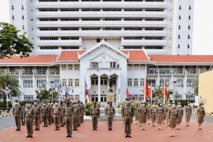 กิจกรรมเคารพธงชาติประจำเดือน เม.ษ. 2563