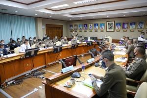 การประชุมคณะกรรมการบริหารและจัดหาระบบคอมพิวเตอร์ ตร. (CIO ตร.) ครั้งที่ 3/2563