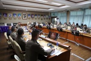 ประชุมคณะกรรมการบริหารและจัดหาระบบคอมพิวเตอร์ ตร. (CIO ตร.) ครั้งที่ 4/2563