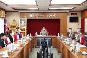 ประชุมคณะกรรมการเร่งรัดและติดตามผลการใช้จ่ายงบประมาณของ บช.ส. ครั้งที่ 5/2563