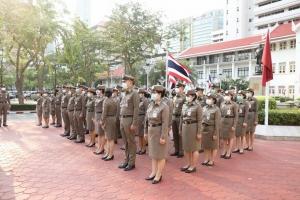 กิจกรรมเคารพธงชาติ ประจำเดือน มี.ค.2564