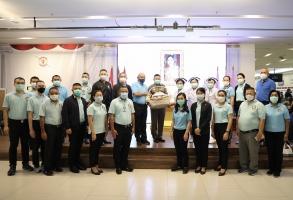 บช.ส. ร่วมส่งกำลังใจ ให้แพทย์ พยาบาล และ เจ้าหน้าที่ รพ.ตร. ในการปฏิบัติหน้าที่สู้ภัย COVID-19